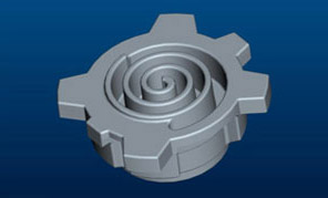 CAD Drawing of Steel Shell Mold Pattern