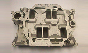 Casting of an Exhaust Gas Recirculation Duct and Air Intake Manifold